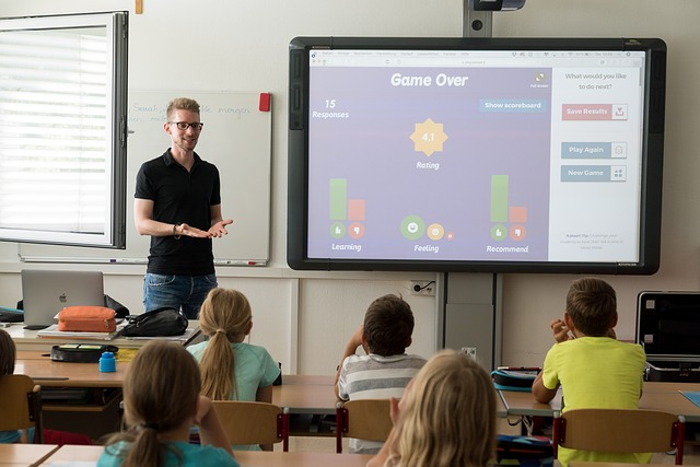 Referendar Tafel Schulklasse Unterricht
