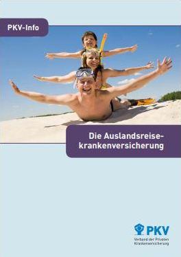 Krankenversicherung Ausland privat Infos Broschüre