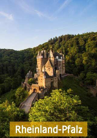 Burg Eltz in Rheinland Pfalz Natur