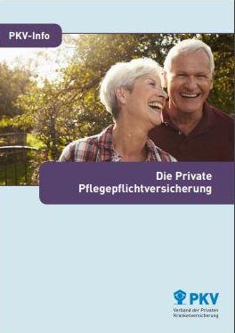 Private Pflegeversicherung Beamte Infos Broschüre PKV