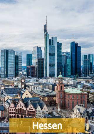 Frankfurt am Main Hessen Skyline
