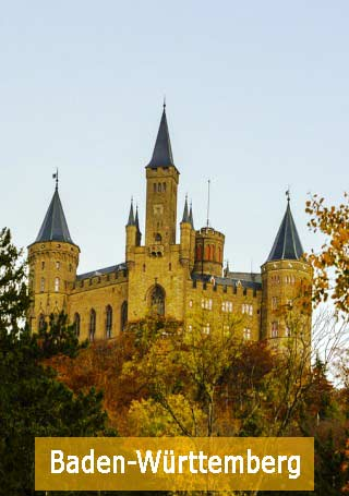 Baden Württemberg Schloss Hohenzollern Bundesland