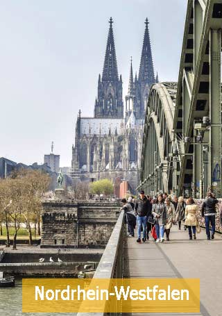 Bundesländer Köln Rheinbrücke Dom Nordrhein Westfalen Beihilfevorschriften