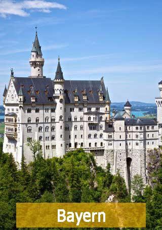 Schloss Neuschwanstein Bayern Bundesland Bayern Beihilfe