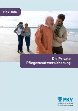 Private Pflegezusatzversicherung für Beamte Infos Broschüre