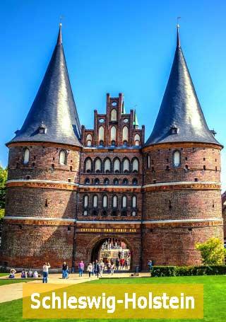 Lübeck Schleswig Holstein Holstentor Bundesland Beihilfevorschriften
