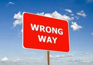 Schild rot Himmel blau Wolken private Krankenversicherung Fehler bei der Suche