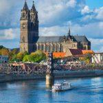 Magdeburg Skyline Beihilfe Sachsen-Anhalt