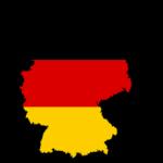 deutschland karte umriss